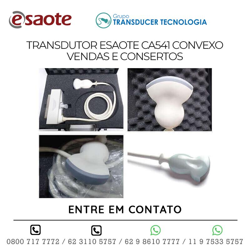 TRANSDUTOR ESAOTE CA541 CONVEXO VENDAS E CONSERTOS