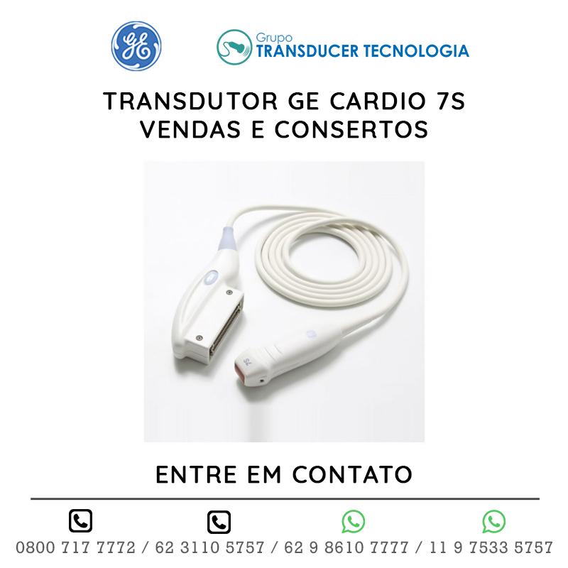TRANSDUTOR GE CARDIO 7S VENDAS E CONSERTOS