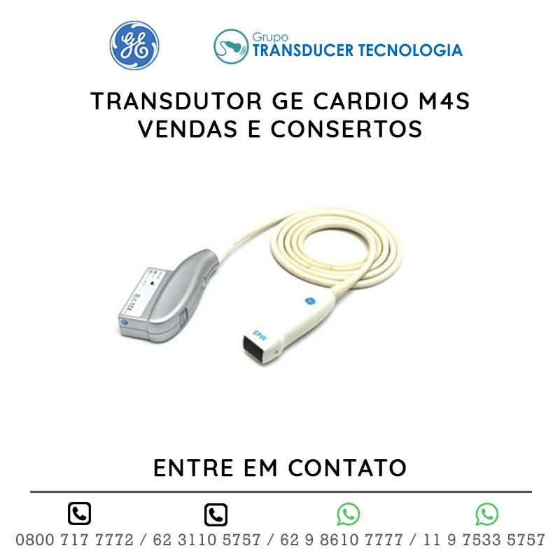 TRANSDUTOR GE CARDIO M4S VENDAS E CONSERTOS