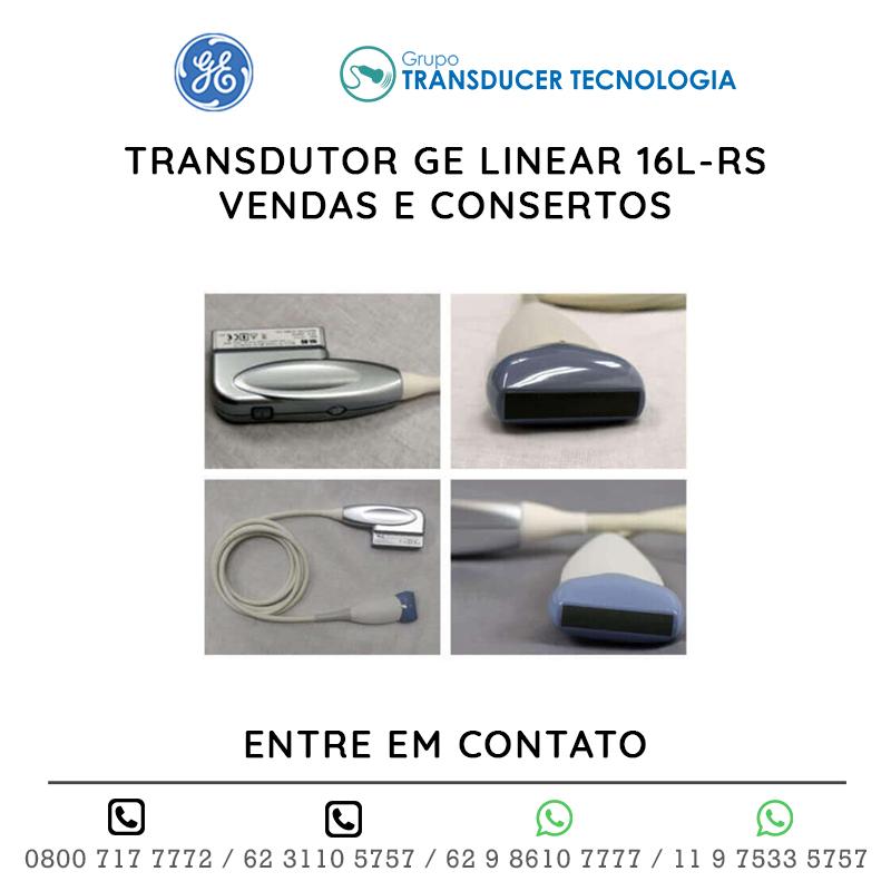 TRANSDUTOR GE LINEAR 16L RS VENDAS E CONSERTOS
