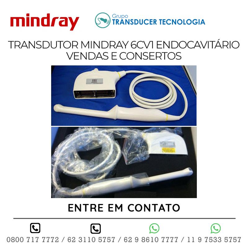 TRANSDUTOR MINDRAY 6CV1 ENDOCAVITÁRIO VENDAS E CONSERTOS