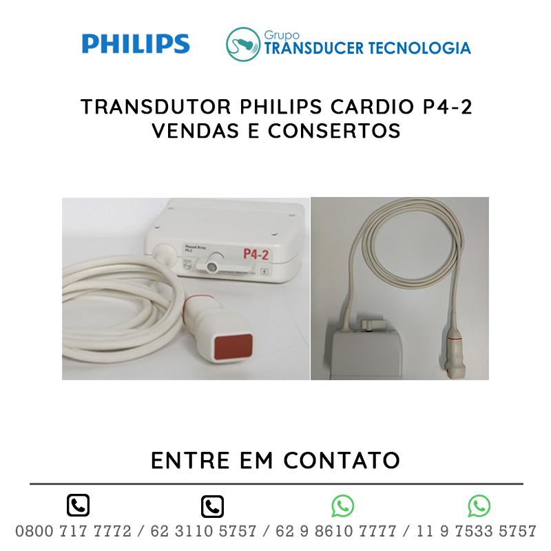 TRANSDUTOR PHILIPS CARDIO P4 2 VENDAS E CONSERTOS