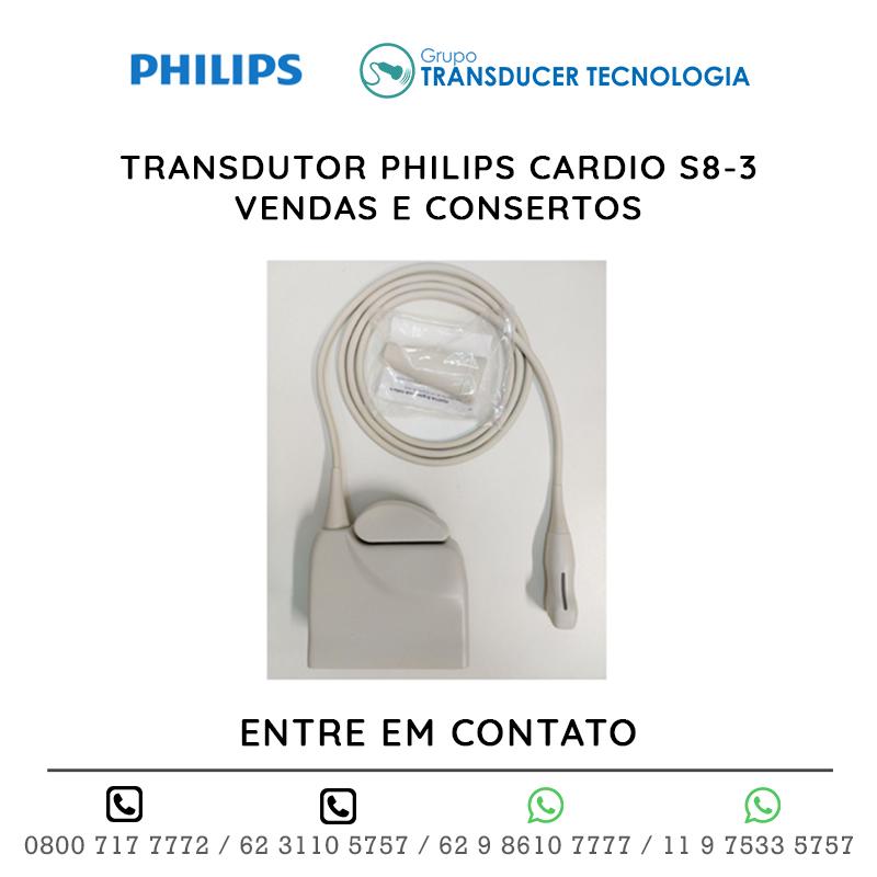 TRANSDUTOR PHILIPS CARDIO S8 3 VENDAS E CONSERTOS