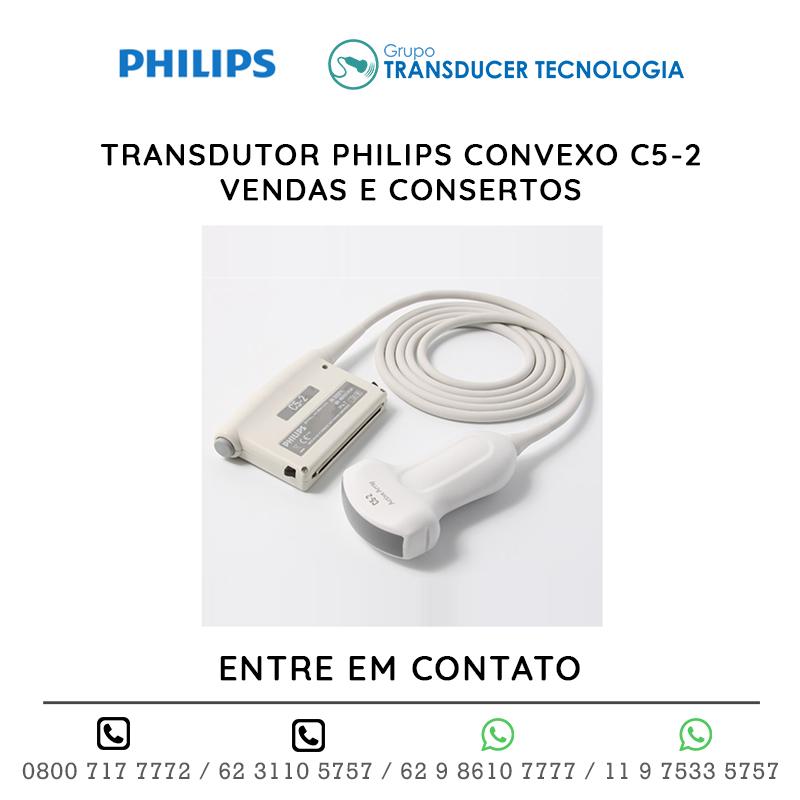 TRANSDUTOR PHILIPS CONVEXO C5 2 VENDAS E CONSERTOS