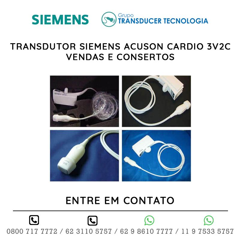 TRANSDUTOR SIEMENS ACUSON CARDIO 3V2C VENDAS E CONSERTOS