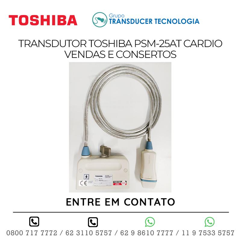 TRANSDUTOR TOSHIBA PSM 25AT CARDIO VENDAS E CONSERTOS