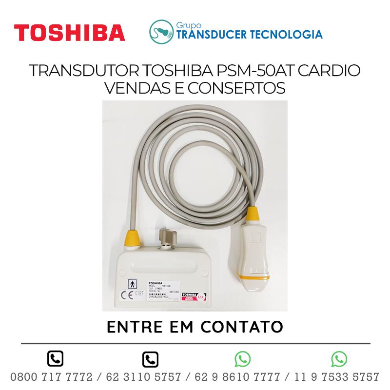 TRANSDUTOR TOSHIBA PSM 50AT CARDIO VENDAS E CONSERTOS