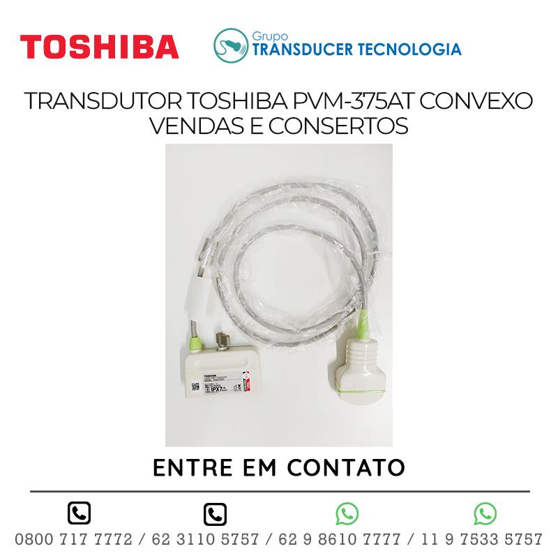 TRANSDUTOR TOSHIBA PVM 375AT CONVEXO VENDAS E CONSERTOS